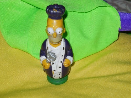 Simpson's 3-D Chess Set Game Piece - Green Team - - Homer - King - 1