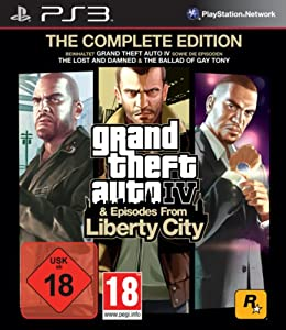 grand theft auto iv episodes from liberty city the complete edition playstation 3. Black Bedroom Furniture Sets. Home Design Ideas