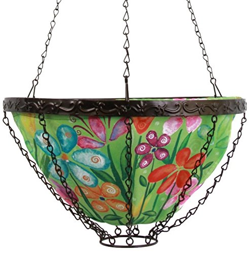 Toland Home Garden Spring Blooms 14 Inch Hanging Art