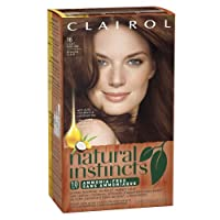 Clairol Natural Instincts Hair Color 16, Spiced Tea, Light Auburn 1 Kit (packaging may vary)