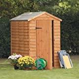 6 x 4 Shed Republic Value Overlap Apex Security Shed