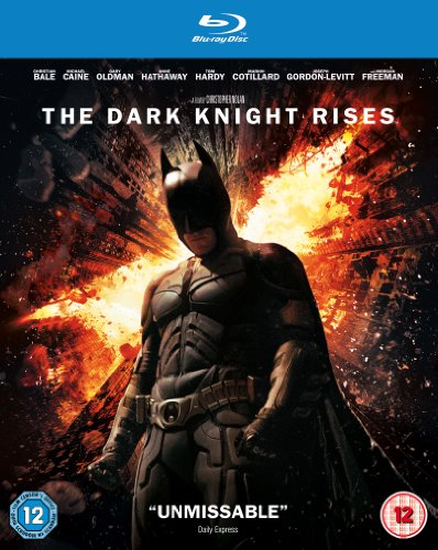 DARK KNIGHT RISES THE BD [Blu-ray] [UK Import]