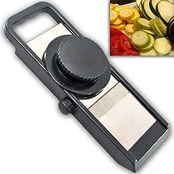 Tosaa Adjustable Plastic Slicer, Black