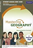 img - for MasteringGeography with Pearson eText -- Standalone Access Card -- for Human Geography: Places and Regions in Global Context (6th Edition) (Mastering Geography (Access Codes)) book / textbook / text book