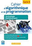 Cahier d'algorithmique et de programm...