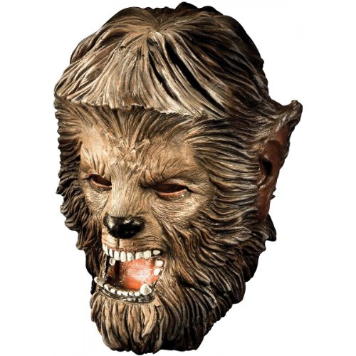 Deluxe Wolfman Mask Costume Accessory
