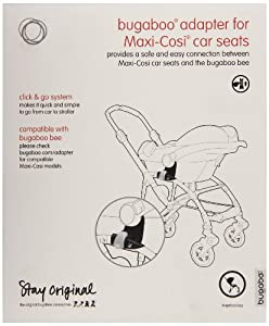 Bugaboo Bee Car Seat Adapter, Maxi Cosi