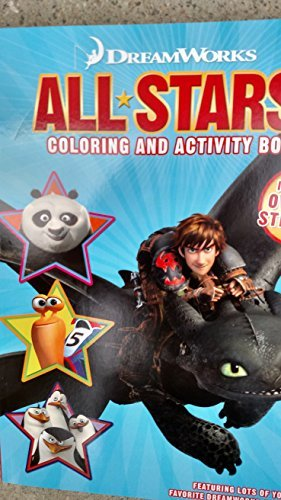 DreamWorks All*Stars Coloring & Activity Book (Includes Over 30 Stickers)