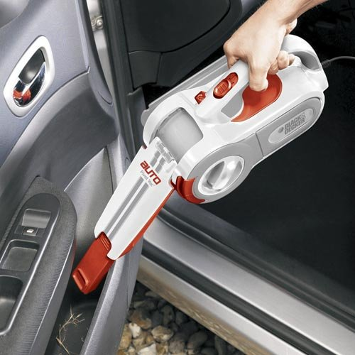 using the Black & Decker PAV1200W vacuum