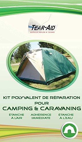 Kit polyvalent de réparation instantanée et sans colle pour tentes, sacs de...