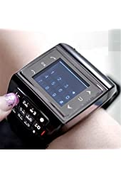 GSM Quadband Voice Dialing Watch Cell Phone Unlocked