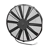 "Amazon.com: Spal 30101516 16"" Straight Blade Low Profile Fan: Automotive"