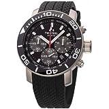 TW Steel Herren-Armbanduhr XL Diver Chronograph Quarz Kautschuk TW-700