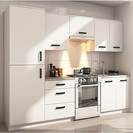 SAVANNA Cuisine complete L 2m60 - Blanc