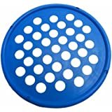 """Cando 10-0864 Blue Web Hand Therapy Device, Latex, 7"""" Diameter, Heavy Resistance"""