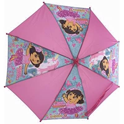 Dora the Explorer - Pink Magic Garden Childrens Umbrella / brolly