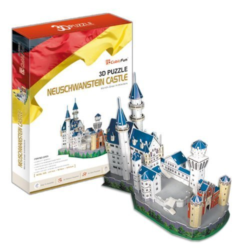 3D puzzle Neuschwanstein castle by Heart Art Collection collection d art 5063