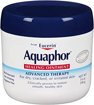 Aquaphor Healing Ointment Dry, Cracked and Irritated Skin Protectant, 14