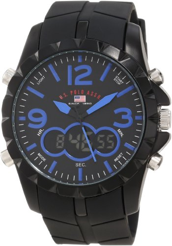 s watches u s polo assn sport s us9239 black