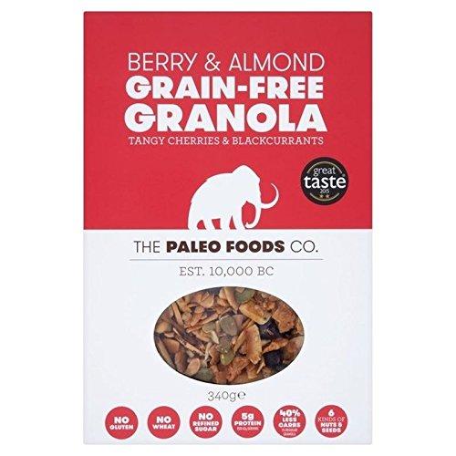 La Paléo Aliments Co Baies Et D'Amande 340G Granola Sans Grain