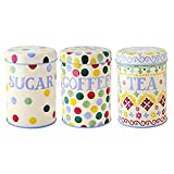 Emma Bridgewater - Polka Dot - Set of 3 Storage Tins