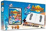 echange, troc Wii- Fitness Board + Aladin Magic Racer [import allemand]