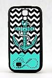 Anchor Cheveron Chevron Hakuna Matata Infinity Ring Samsung Galaxy S4 Black Rubber Case Cover Skin Wave Design 2d Zig