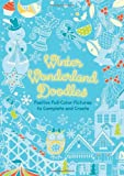 img - for Winter Wonderland Doodles: Festive Full-Color Pictures to Complete and Create book / textbook / text book