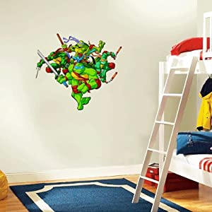Teenage Mutant Ninja Turtles Wall Decal Room Decor 22 X 22 Othe