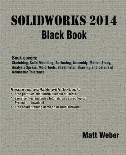 SolidWorks 2014 Black Book [Weber, Matt] (Tapa Blanda)