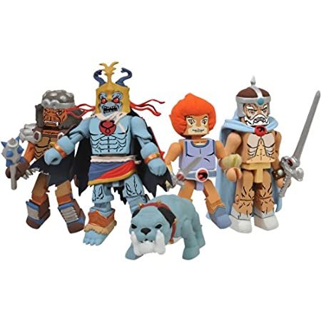 ThunderCats Classic Minimates Series 2 Set of 5 Exclusive
