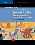 img - for Performing with Projects for the Entrepreneur: Microsoft Office XP and 2000 book / textbook / text book