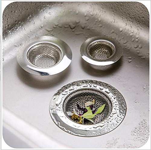 Ecoss Heavy Duty Kitchen Sink Strainer Stainless Steel Size 4-1/2
