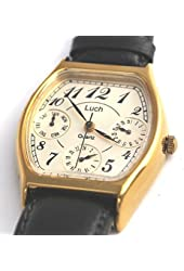 Luch Men's Quartz Chronograph Wrist Watch - Great Gift Item