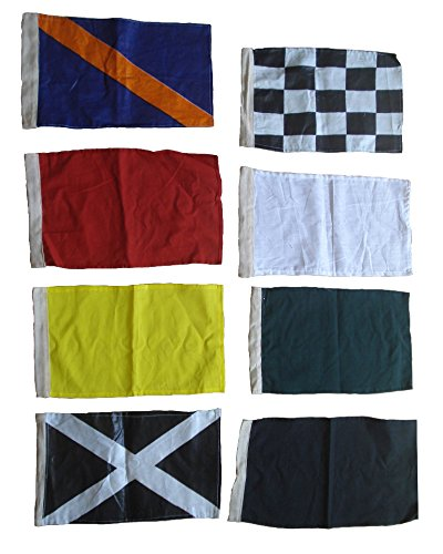 nascar-flag-set-of-8-racing-flags-race-nascar-signal-set-100-cotton-little-very-nice