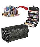 #3: Woogor Roll N Go Travel Buddy Cosmetic Toiletry Bag (Black)