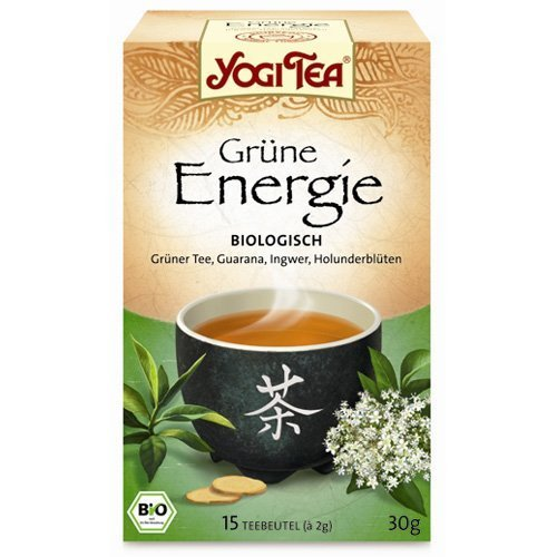 Yogi Tea Green Energy 15 Bag By Yogi Tea