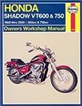 Haynes Honda Shadow VT600 & VT750: 19...