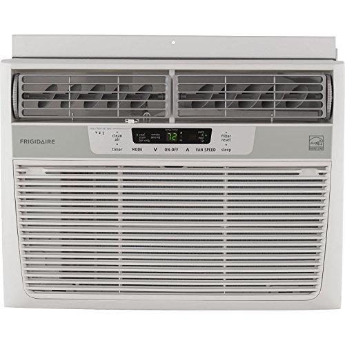 Frigidaire 10,000 BTU 115V Window-Mounted Pithy Air Conditioner with Temperature Sensing Remote Control