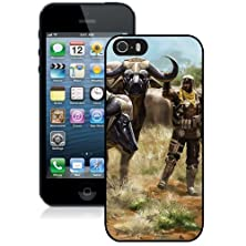 buy Fashionable Designed Cover Case For Iphone 5S With Soldier And Robot Buffalos Fantasy Mobile Wallpaper Phone Case
