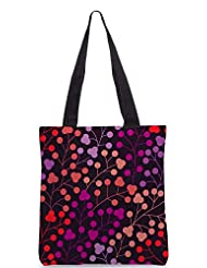 Snoogg Seamless Pattern With Leaf Copy That Square To The Side And Youll Get Seaml Designer Poly Canvas Tote Bag - B012FZ2172