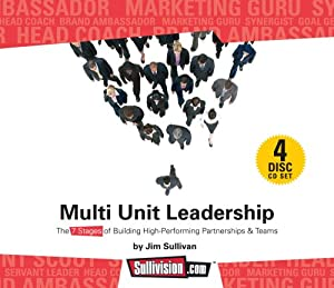 AudioBook: Multi-Unit Leadership The 7 Stages of Building High-Performing Partnerships and Teams