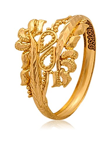 Gold Finger Ring Designs For Ladies With Price