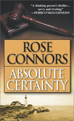 Image for Absolute Certainty : A Crime Novel