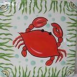 Cape Shore Crab Ceramic Trivet