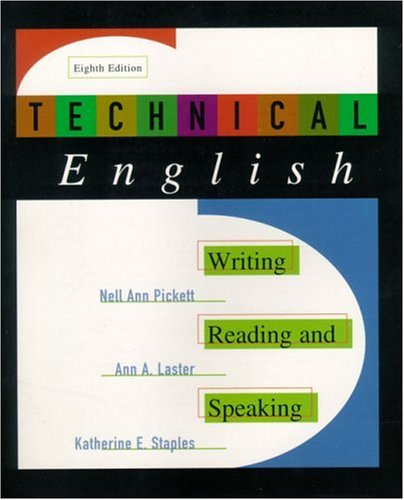Technical English: Writing, Reading and Speaking (8th Edition)