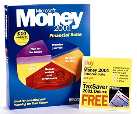 Money 2001 Financial Suite & FREE Tax Saver 2001