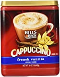 Hills Bros Cappuccino French Vanilla 16oz