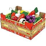Legler - 2020738 - Jeu D'imitation - Commerçant - Jouets Cageot De Légumes