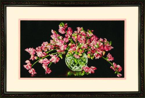 Dimensions Kit Point De Croix Compté, Bouquet De Fleur